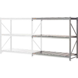 """Extra High Capacity Bulk Rack With Steel Decking 60""""W x 24""""D x 96""""H Add-On"""