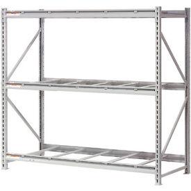 "Extra High Capacity Bulk Rack Without Decking 96""W x 48""D x 96""H Starter"