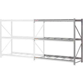 """Extra High Capacity Bulk Rack Without Decking 96""""W x 24""""D x 120""""H Add-On"""