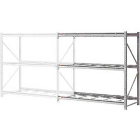 """Extra High Capacity Bulk Rack Without Decking 96""""W x 36""""D x 120""""H Add-On"""