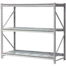 """Extra High Capacity Bulk Rack With Wire Decking 72""""W x 24""""D x 72""""H Starter"""