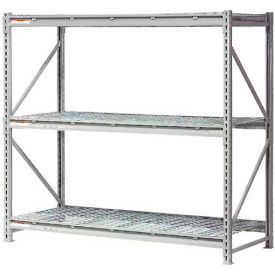 """Extra High Capacity Bulk Rack With Wire Decking 96""""W x 24""""D x 96""""H Starter"""