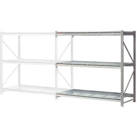 "Extra High Capacity Bulk Rack With Wire Decking 72""W x 24""D x 96""H Add-On"