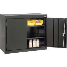 Sandusky Elite Series Desk Height Storage Cabinet EA11361830 - 36x18x30, Black