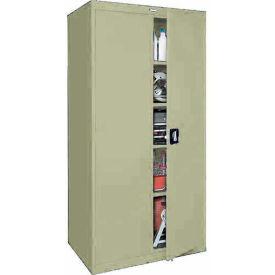 Sandusky Elite Series Storage Cabinet EA4R361878 - 36x18x78, Putty