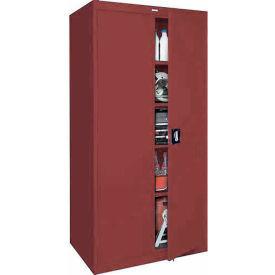 Sandusky Elite Series Storage Cabinet EA4R361878 - 36x18x78, Red