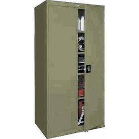 Sandusky Elite Series Storage Cabinet EA4R361878 - 36x18x78, Sand