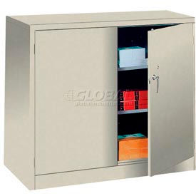 Lyon Counter Height Storage Cabinet PP1035  - 48x24x42 - Putty
