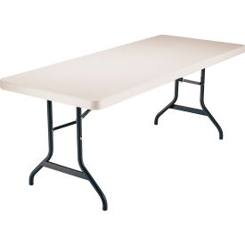 "Lifetime® Portable Folding Table 72"" - Almond"