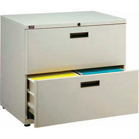 "Extra Value 2 Drawer Lateral File Cabinet 30""W X 26-5/8""H - Putty"