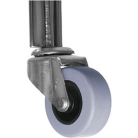"2"" Rubber Casters Set Of 5"
