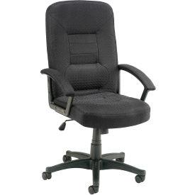 High Back Pneumatic Chair Black