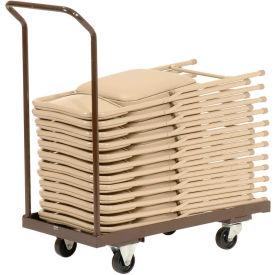 Folding Chair Cart Holds 24