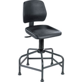 Interion™ Polyurethane Spider Base Stool