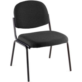 Pinehurst Black Contoured Stack Chair