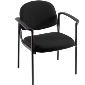 Pinehurst Black Contoured Chair With Arms