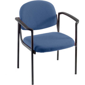 Pinehurst Blue Contoured Chair With Arms