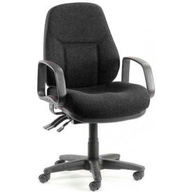 Low Back Chair Black
