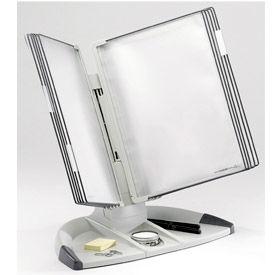 Tarifold® t-office Desktop Organizer Starter Set, 10 Gray Pockets