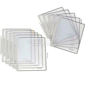 Tarifold® t-office Pivoting Pocket Packs, 10 Pockets/Pack, Gray