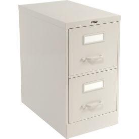 Global™ Vertical File Legal Size 2 Drawer, Light Grey