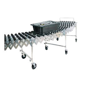 NestaFlex® 22618008-P Flexible Conveyor Polymer Skate Wheel 226 Lb./Ft.