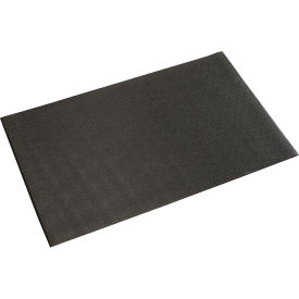 "Pebble Surface Mat Black 3/8""Thick 24x36"