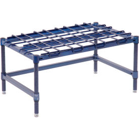 """Stationary Dunnage Rack 30""""W x 18""""D - Poly Z Brite"""
