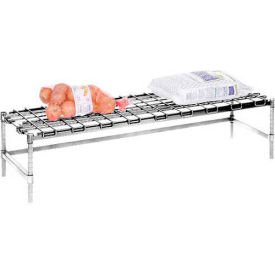 "Stationary Dunnage Rack 36""W x 18""D - Poly Z Brite"