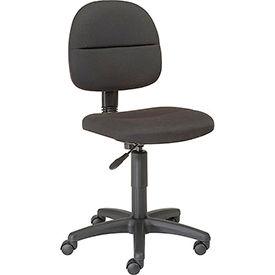 Futura Secretary Chair-Black