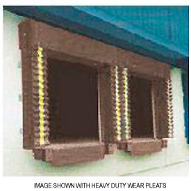 Chalfant Brown Dock Door Seal Model 131 Heavy Duty 40 Ounce 8'W x 10'H by