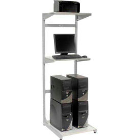"24""W X 30""D X 74""H Computer Server Station"