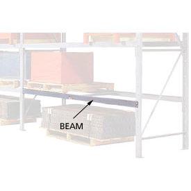 "Pallet Rack Beam Pair - 3"" Channel 108""W x 42""D"
