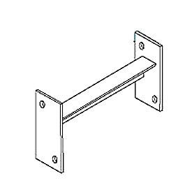 """Pallet Rack Slotted Row Spacer - 4"""" Channel"""