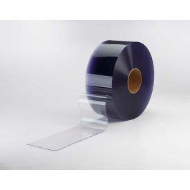 "TMI PVC Strip Curtain Door Bulk Roll Standard Grade Clear 8"" x 300' x .080"""