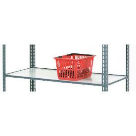 Additional 48 x 24 Wood Shelf for Easy Adjust Boltless Shelf Trucks
