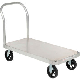 Magliner® Aluminum Platform Truck with Smooth Deck 48 x 24 2400 Lb. Cap.