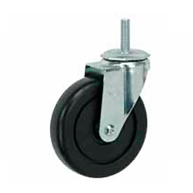 "Faultless Swivel Threaded Stem Caster G460S-5 5"" Polyolefin Wheel"