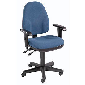 Interion™ Multifunction Operator Chair With Adjustable Armrests