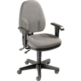 Multifunction Operator Chair With Adjustable Armrests