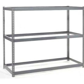 Wide Span Rack 60x36x60 With 3 Shelves No Deck 1000 Lb Capacity Per Level