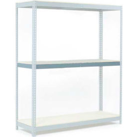 """Additional Level For Wide Span Rack 48""""W x 24""""D Wood Deck 1200 Lb Capacity"""