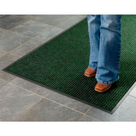 Deep Cleaning Ribbed Entrance Mat 3x4 Green