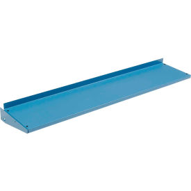 "72""W x 12""D Cantilever Shelf For Uprights Shelf - Blue"