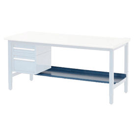 "96""W x 15""D Lower Shelf For Bench - Blue"