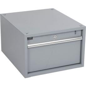 """12""""H Stacking Workbench Drawer, Gray"""