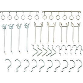 30 Piece Pegboard Hook Set