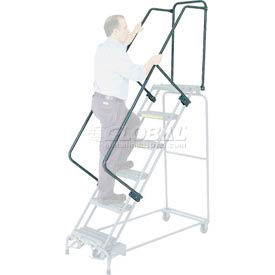 "OSHA Handrail Kit For 5 To 9 Steps - 14""D Step"