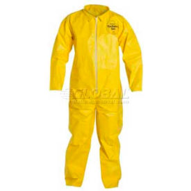 Dupont™ Tychem® QC Disposable Coverall with Open Ended Wrists/Ankles, XL, 12/Case