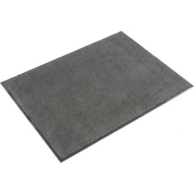 Plush Super Absorbent Mat 3'W Cut Length Up To 60 Ft. Charcoal
